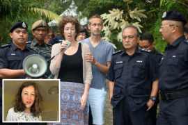 Siamese monk helps discover part of Malaysian jungle where noxious Irish teen killer Nora Quirre was found
