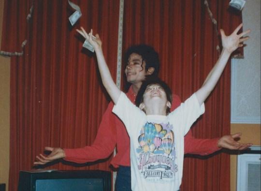 Michael Jackson, James Suff