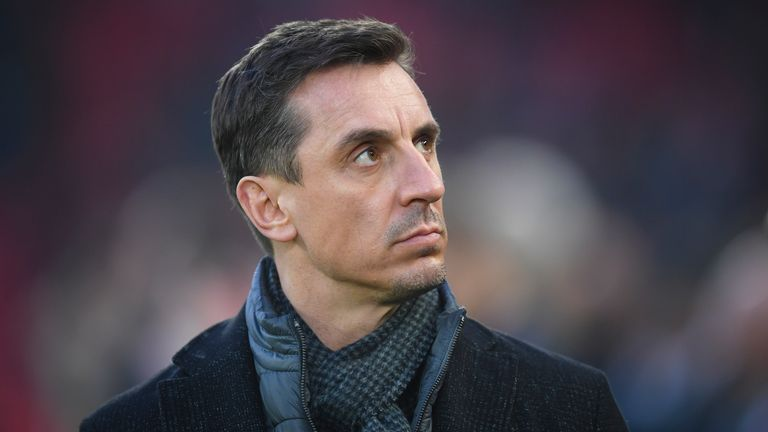 Gary Neville called for action to address the lack of diversity at the boardroom level