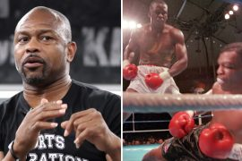 Buster Douglas, who shocked the world against Mike Tyson in 1990, predicts the legendary fight with Roy Jones Jr.