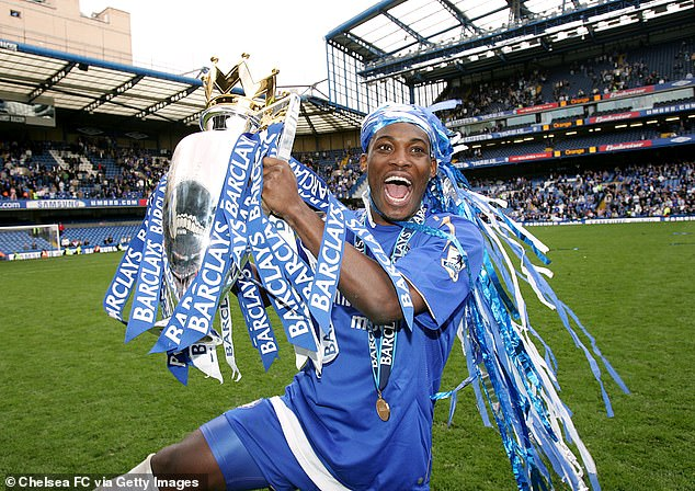 The leader of the party is Michael Essin (above), a Ghanaian who has won several trophies at Chelsea