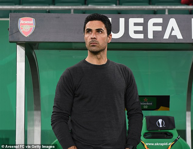 Arsenal boss Michael Arteta (above) believes he has more to do with the Ghana midfielder
