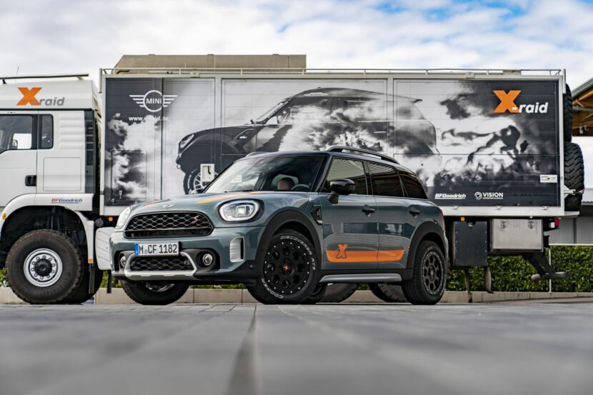 X Raid 13 830x553 Powered Mini Countryman