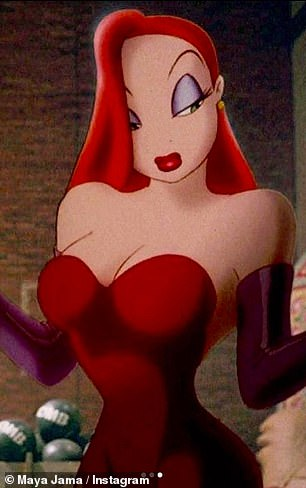 The real thing: Jessica Rabbit