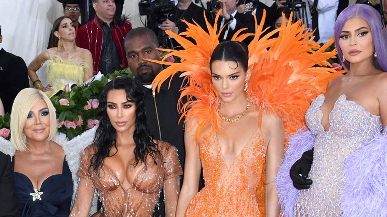Kardashians and Cannes at the Met Gala in 2019