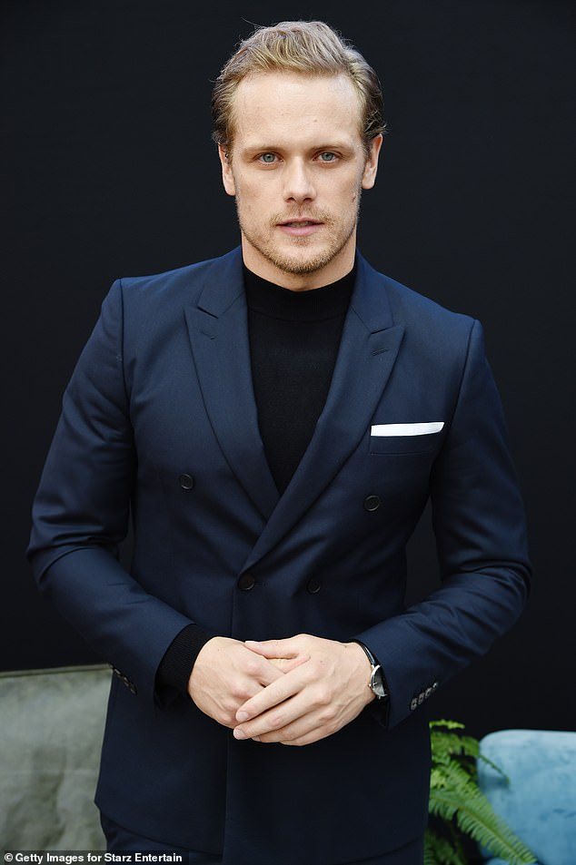Back to work: When he appeared on Live With Kelly and Ryan on Friday, it was confirmed that preparations were underway to resume filming for Sam Out Outlander Season Six.