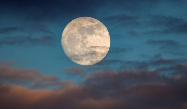 Halloween full moon for the first time in almost 50 years