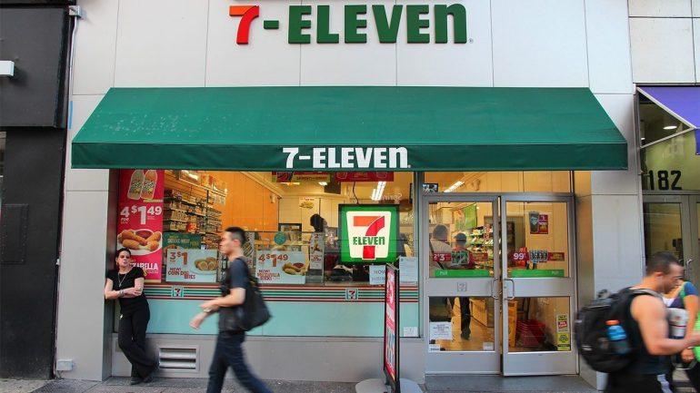 7-Eleven Sunday serves natural pizza