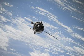 A defunct Soviet satellite and a Chinese rocket booster collide in space