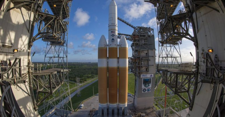 After a long delay, the UAE's most powerful rocket ready to launch a classified spy satellite