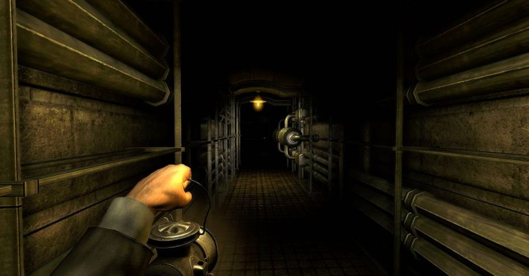 Amnesia: A machine for pigs at the Epic Games Store