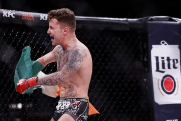 Bellator Europe 9 Results and Videos: James Gallagher Cal Ellenor works briefly