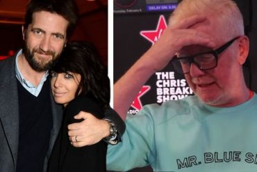 Chris Evans questions Claudia Winkleman about blocking her husband's entry  Celebrity News |  Showbiz and TV