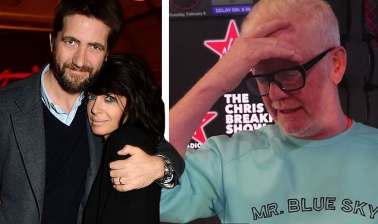 Chris Evans questions Claudia Winkleman about blocking her husband's entry  Celebrity News    Showbiz and TV