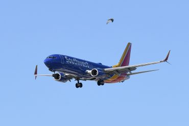 Corona virus checks pandemic Southwest Airlines' no-log record