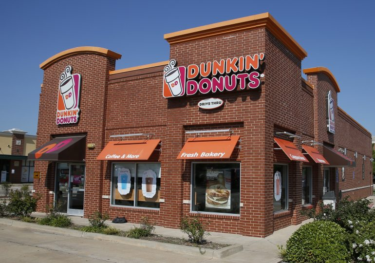 Dunkin's brands will go private in the 76 8.76b deal with the RB owner