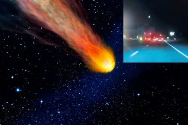 Fireball video: West America's meteor shower brighter than the moon | Science | News