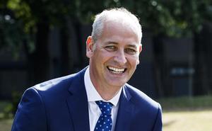 Progress Report: Paul Reed, Managing Director, Pfizer Ireland.  Picture: Andres Poweda
