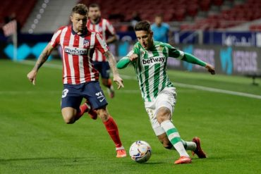 Football: Simeon meets Soccer-Atletico Betis after tactical switch