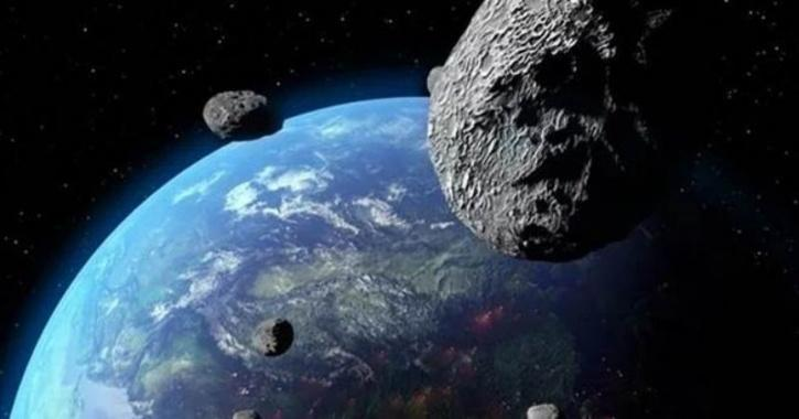 Asteroids passing through Earth