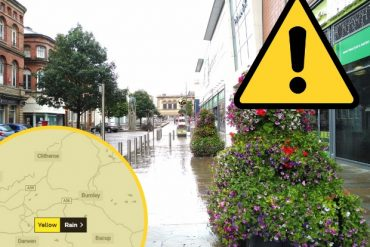 Hurricane Alex: Heavy rain forecast for hours in East Lancashire