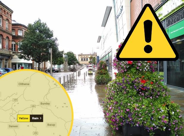 Hurricane Alex: Heavy rain forecast for hours in East Lancashire