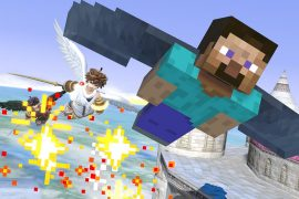 It took five years to get the Minecraft characters in Super Smash Brothers.