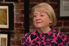 """""""It was very beautiful and most importantly Irish."""" Kathleen Watkins thanks the nation for the messages that followed Gay Byrne's death"""