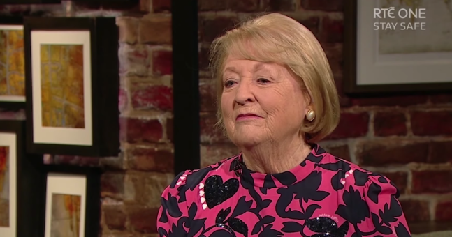 """It was very beautiful and most importantly Irish."" Kathleen Watkins thanks the nation for the messages that followed Gay Byrne's death"