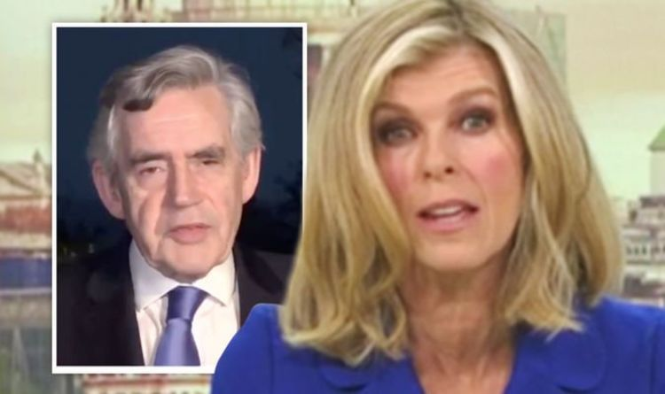 Kate Garvey criticizes Gordon Brown over Johnson-Manchester deal  TV & Radio |  Showbiz and TV