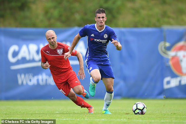 Matt Miasga has been with Chelsea for almost five years, but has only played twice for the club