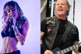 Millie Cyrus has revealed that she is working on a Metallica covers album