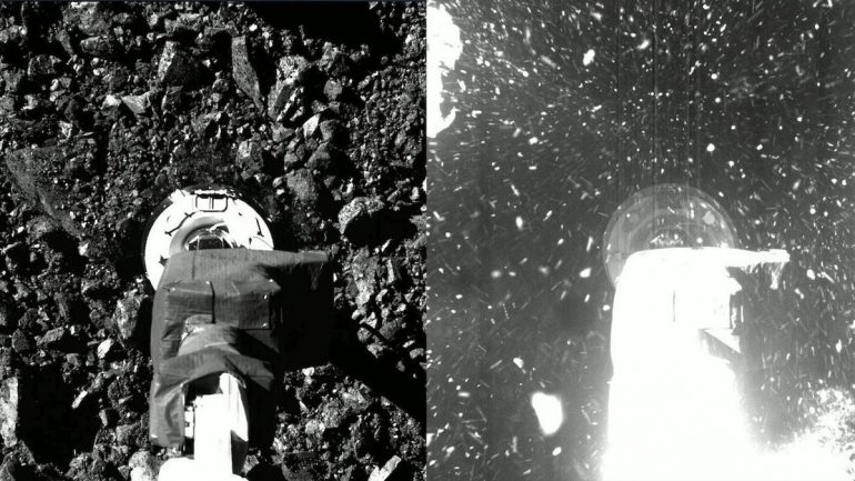 NASA releases Osiris-Rex footage and images from the Asteroid Bennu Mission