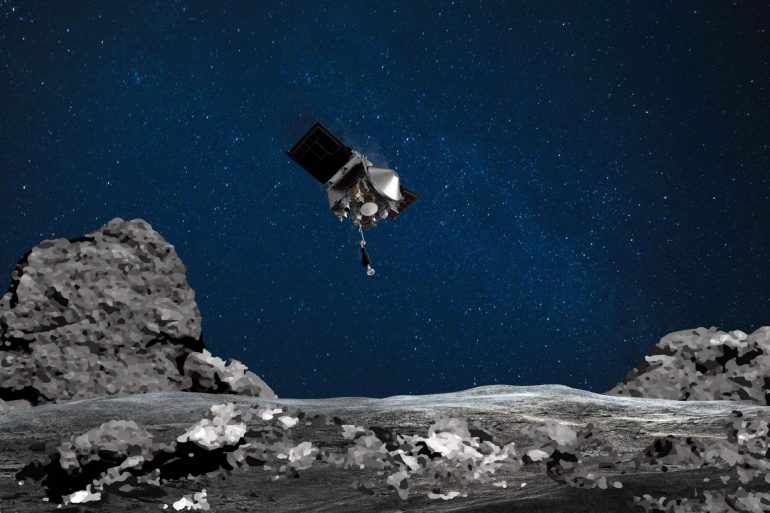 NASA space probe leaks asteroid samples after falling victim to its own success
