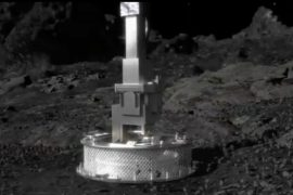 NASA spacecraft Osiris-Rex asteroid Benu samples flow back into space