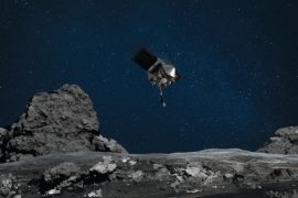 NASA's Osiris-Rex asteroid touches Bennu's surface> ENGINEERING.com