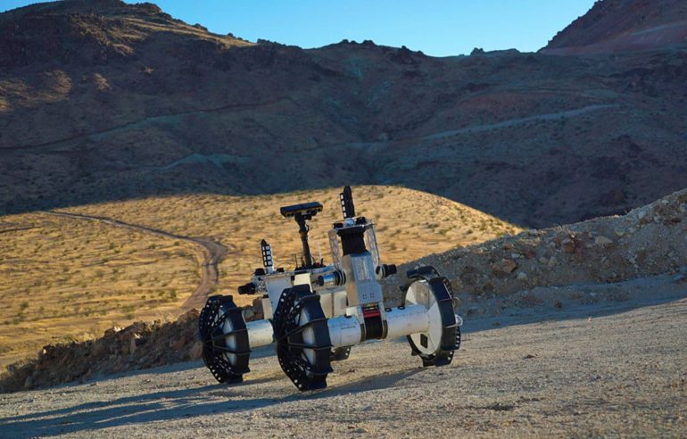 NASA's ridiculous rover concept can hit any terrain - BGR