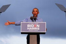 Obama criticizes Trump's tweets and track record