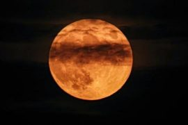 A blue moon will shine on Halloween night