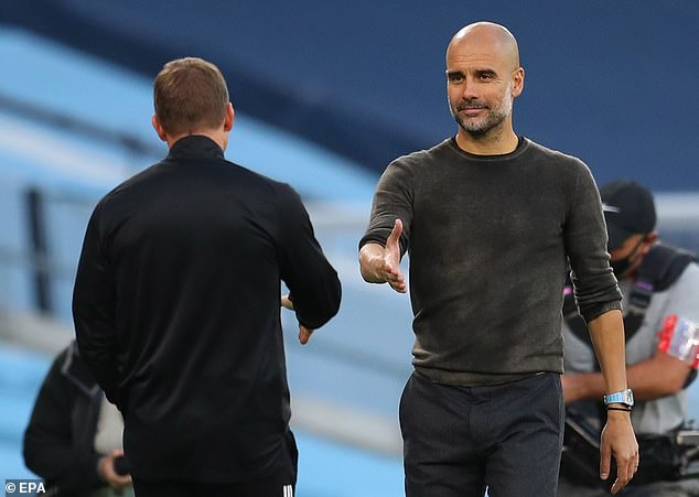 Pep Guardiola wants to go back after a 5-2 humiliation against Leicester