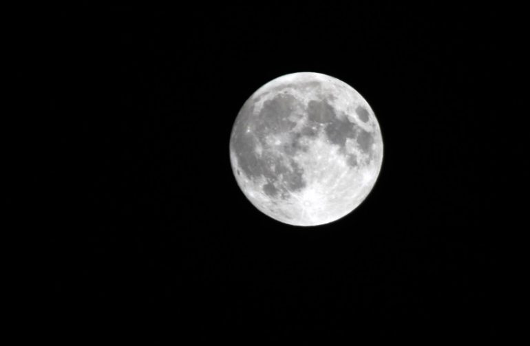 Presents the first global Halloween Blue Moon since World War II