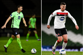 Shane McLenny can't wait to see his brother Patrick play Arsenal player Obamayang, but first confronts him with Finn Harps