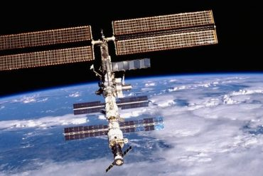 The ISS crew discovered an exclusive air leak using floating tea leaves