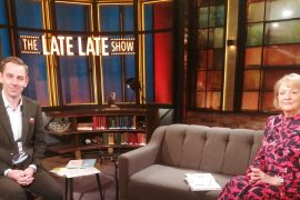 The Late Late Show: Ryan Tubridi did not speak due to the wonderful gestures of Gay Byrne's widow Kathleen Watkins.