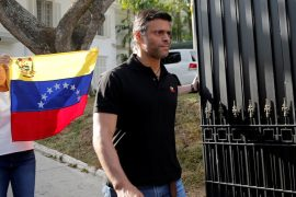 The Venezuelan opposition image, long limited, is leaving the country