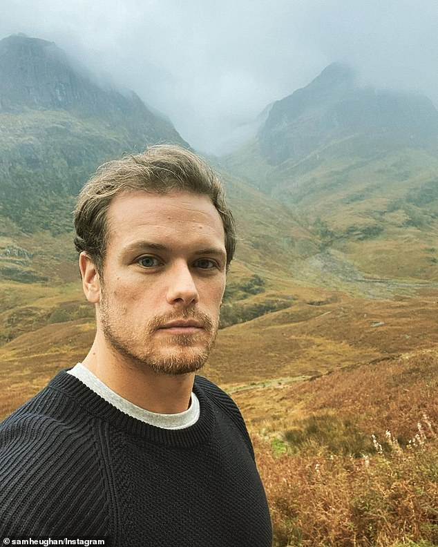 Coming to Oz: land The Landlander star Sam Hugen (pictured) has always talked about his love for his hometown of Scotland, but the hunky actor seems likely to move downhill