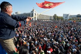 Violent protests in Kyrgyzstan Elected by vote-buying results