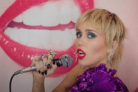 Watch Miley Cyrus 'Midnight Sky' for The Graham Norton Show