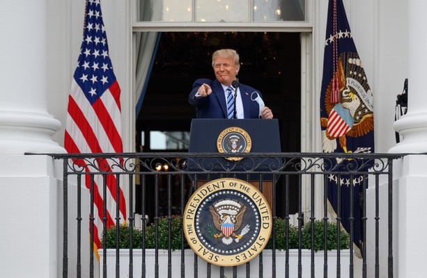 White House doctor says Trump tested negative for Covid-19