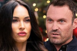 Megan Fox Brian Austin Green for posting son on Halloween photo